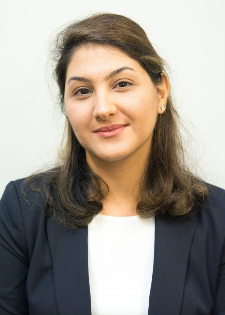 Portrait of Farzaneh Nafar